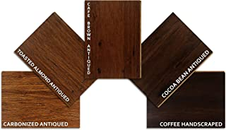 Hardwood Bamboo Flooring - 5 Color Sample Pack - Harmonious Handscraped by Ambient Bamboo