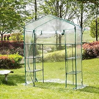 Mini serra da giardino a cinque piani in PVC TE Hot 187 x 69 x 49 cm