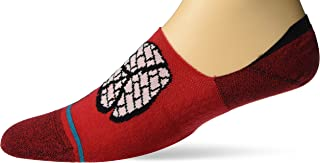 Stance Rocksteady No Show Socks in Red