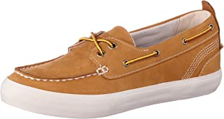 Timberland Women's Brattleboro Boat Shoes, High-Quality Natural Leather, Durable and Comfortable Fit