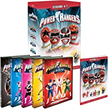 Power Rangers Seasons 4, 5, 6, 7 (Zeo, Turbo, In Space, Lost Galaxy)
