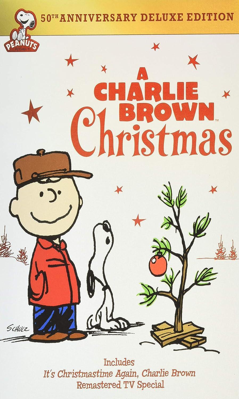 A Charlie Brown Christmas DVD.