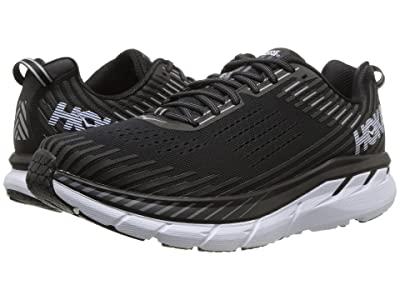 Hoka One One Clifton 5 (Black/White) Men