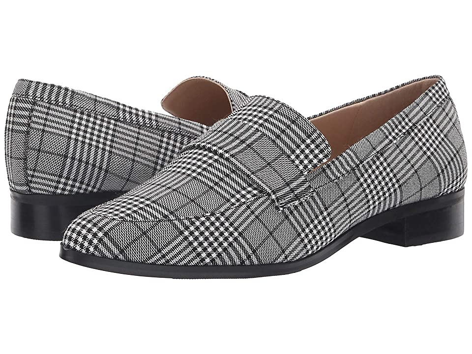 JANE AND THE SHOE Laurel (Black/White Plaid) Women