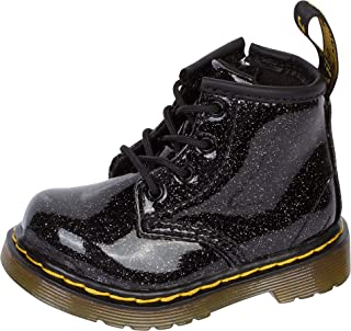 Kid's Collection Baby Girl's 1460 Patent Glitter Infant Brooklee Boot (Toddler)