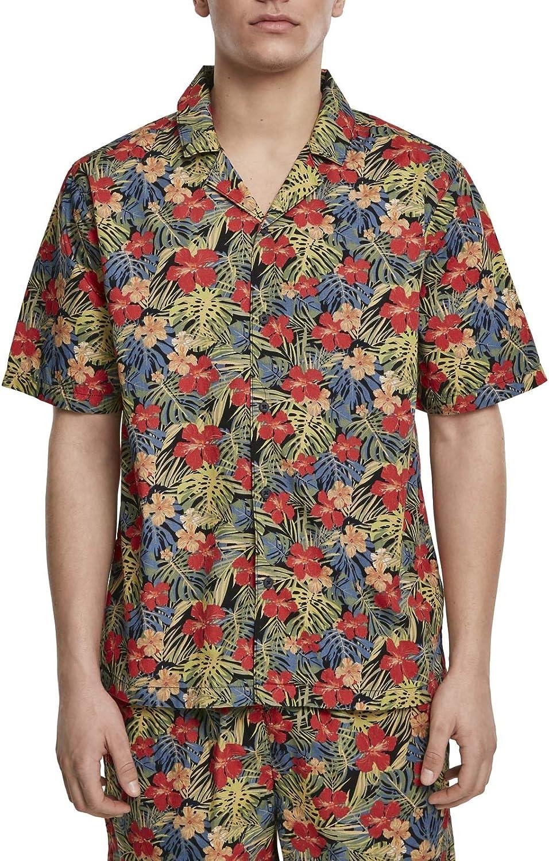 Urban Classics - Hawaii Resort Summer Floral Shirt
