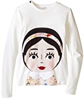 Dolce & Gabbana Kids - Back to School Bimba Mora T-Shirt (Big Kids)