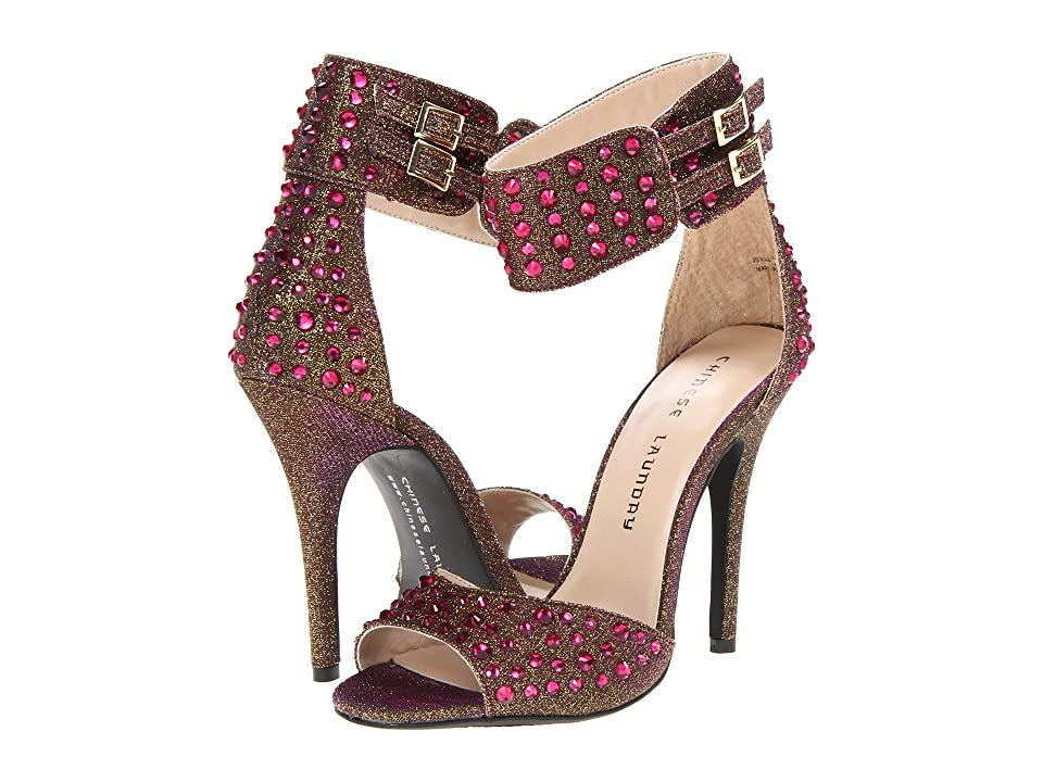 Chinese Laundry Jovial (Pink Glitz Fabric Multi) High Heels