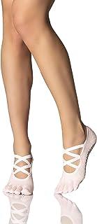 Toesox Full Toe Elle Yoga e Pilates Grip calzino