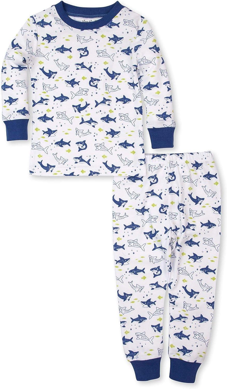 Kissy Kissy Baby-Boys Infant PJs Slinky Sharks Print Long Pajamas Set