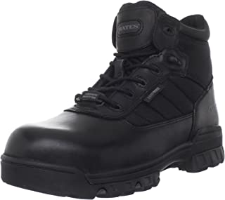 bates sport composite toe mens slip resistant work shoes