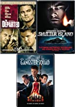 No Names No Mercy Gangster Martin Scorsese Squad Feature DVD Shutter Island + The Departed triple Movie Feature