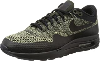 Mens Air Max 1 Ultra Flyknit Knit Low Top Athletic Shoes