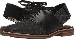 Black/Denim Leather