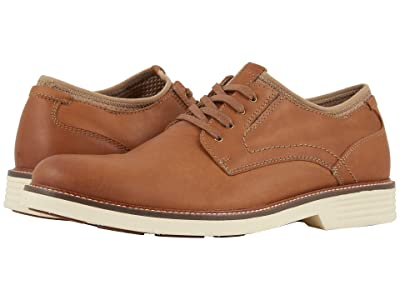 Dockers Parnell Alpha Plain Toe Oxford (Dark Tan Crazyhorse) Men