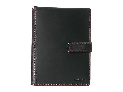 Lodis Accessories Audrey RFID Flip Ticket/Passport Wallet (Black RFID) Bi-fold Wallet