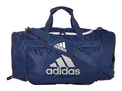 adidas Defender III Medium Duffel (Tech Indigo/Blue/Metallic Silver) Bags