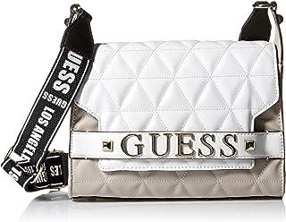 guess white shoulder bag