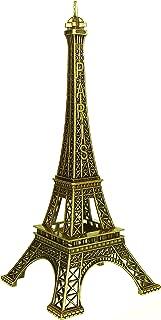 Souvenir of Paris - Eiffel Tower Statue in Metal - Size 3.5