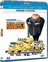 Mi Villano Favorito 3 (Despicable Me 3) BLU-RAY 3D + BLU-RAY + DVD (English, Spanish & Portuguese Audio & Subtitles) IMPORT