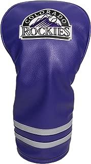 Team Golf MLB Vintage Driver Golf Club Headcover, Form Fitting Design, Retro Design & Superb Embroidery