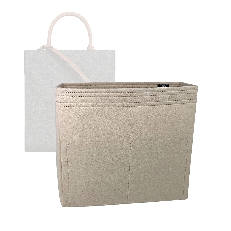 Bag Organizer for Celine Small Tampa Mall - Over item handling ☆ Premi Cabas Vertical Insert