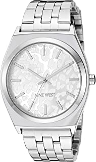 Women's Silver-Tone Bracelet Watch