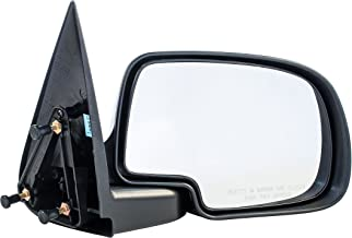Dependable Direct Right Side Non-Heated Mirror for 99-07 Chevy Silverado, GMC Sierra - Parts Link #: GM1321230 - Check Fitment List