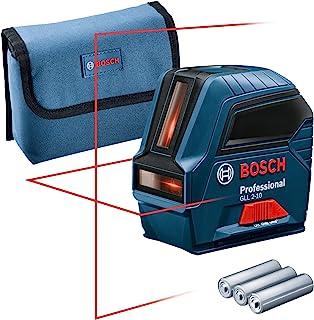 comprar comparacion Bosch Professional 0601063L00 Nivel GLL 2-10, láser Rojo, Interior, Alcance 10 m, con Funda, en Caja