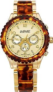 ساعة اوجست ستينر فيدا كوارتز سويسرية بسوار متعددة الوظائف للرجال
