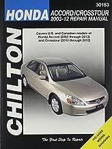 Chilton's Honda Accord/Crosstour 2003-12 Repair Manual / (Chilton Automotive Books)