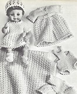 18 doll clothes crochet patterns free