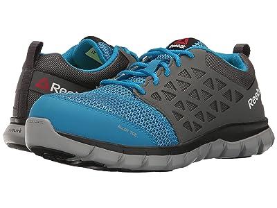 Reebok Work Sublite Cushion Work Alloy Toe EH (Blue/Grey) Women