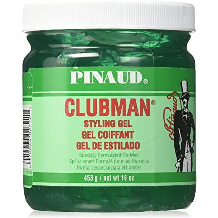 Clubman Styling Gel By Ed Pinaud for Men, 16 Ounce, Pack of 2