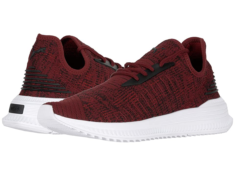 PUMA Avid evoKNIT Mosaic (Pomegranate/Puma Black/Ribbon Red) Men