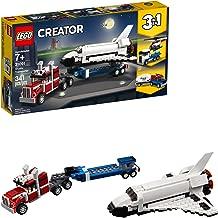 LEGO Creator 3in1 Shuttle Transporter 31091 Building Kit, 2019 (341 Pieces) (Renewed)