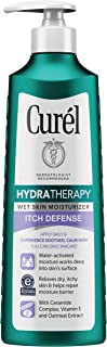 CurÃl Hydra Therapy, Itch Defense Moisturizer, 12 Fl Oz (Pack of 1) Wet Skin Lotion, with Advanced Ceramide Complex, Vitamin E, and Oatmeal Extract. Helps to Repair Moisture Barrier