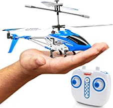 Syma Wind Hawk Remote Control Helicopter - Indoor RC Helicopter for Adults, Flying Toys for Kids w/ Altitude Hold (Blue)