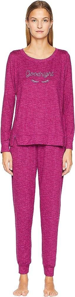 Goodnight Cozy Knit Pajama Set