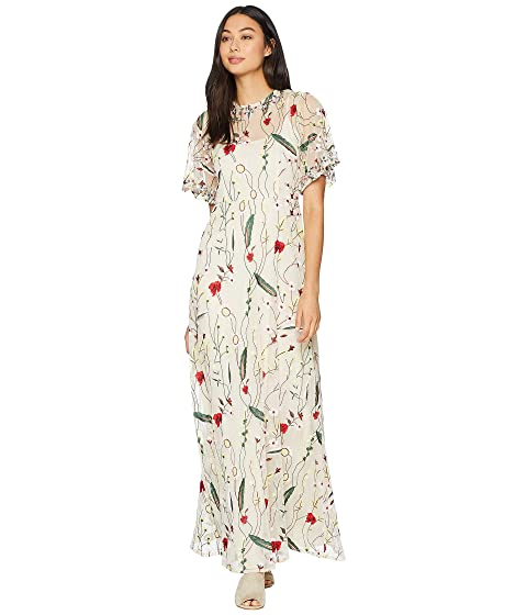 57739e8677c2 Juicy Couture Embroidered Mesh Maxi Dress at 6pm