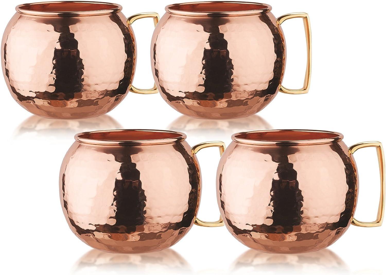 Old Dutch OS499H Drinking Mugs, 32 oz, Copper