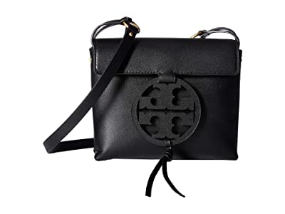 Tory Burch Miller Crossbody (Black) Cross Body Handbags