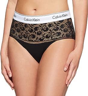 Calvin Klein Women's Modern Cotton Cherry Lace High Waist Bikini