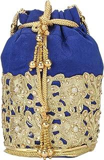 Fancy Haat Silk Ethnic Rajasthani Women's Potli Bag