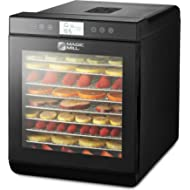 magic mill MFD-1011 Food... magic mill MFD-1011 Food Dehydrator Machine, 10 Trays Stainless Steel, Black