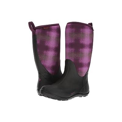 Columbia Snowpow Tall Print Omni-Heat (Purple Dahlia/Olive Drab) Women