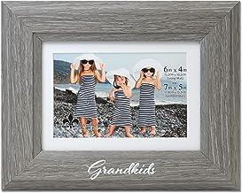 إطار صور Lawrence Frames Grandkids 4x6، رمادي