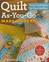 Quilt As-You-Go Made Modern - Softcover