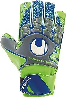 uhlsport TENSIONGREEN Soft Support Frame Finger Protection Junior Goalkeeper Gloves