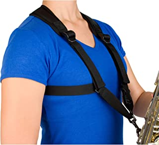 Pro Tec Protec Saxophone Harness with Deluxe Metal Trigger Snap - Size: Small, Model A306SM (